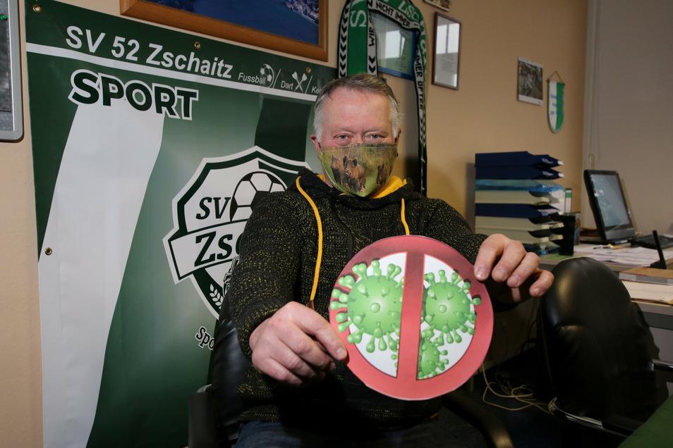 Bürgermeister Immo Barkawitz ist froh, dass es in seiner Gemeinde wenig Corona-Infizierte gibt.