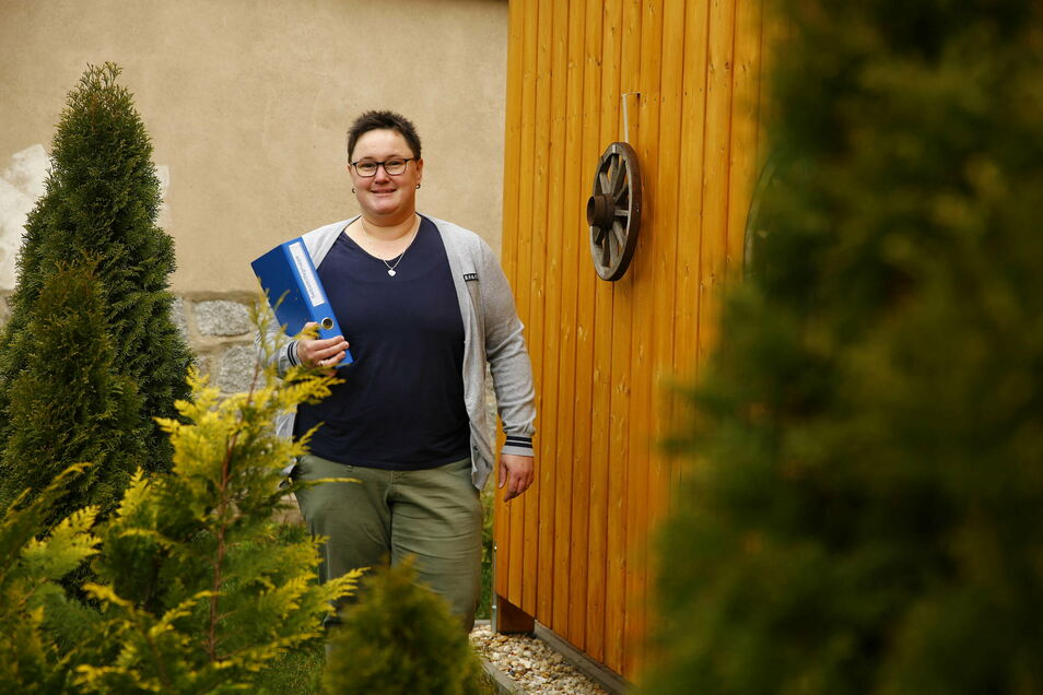Sandra Schlenkrich hat eine Selbsthilfegruppe für Übergewichtige gegründet. Bis jetzt gibt es 14 Mitglieder, die sich regelmäßig einmal pro Monat in Kamenz treffen, außer in Corona-Zeiten.