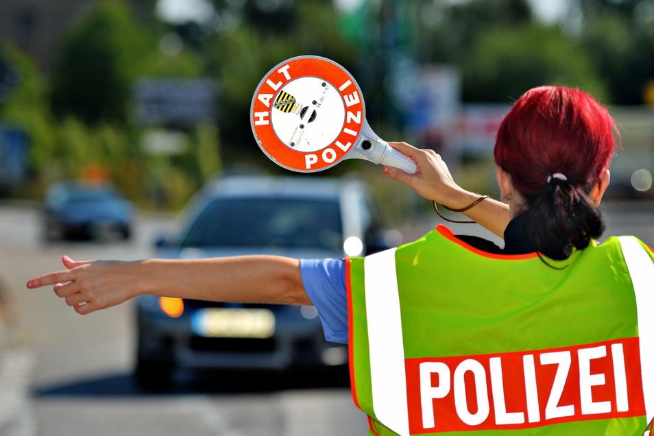 Bei einer Verkehrskontrolle hat die Polizei einen Fahrer ohne Fahrerlaubnis erwischt.