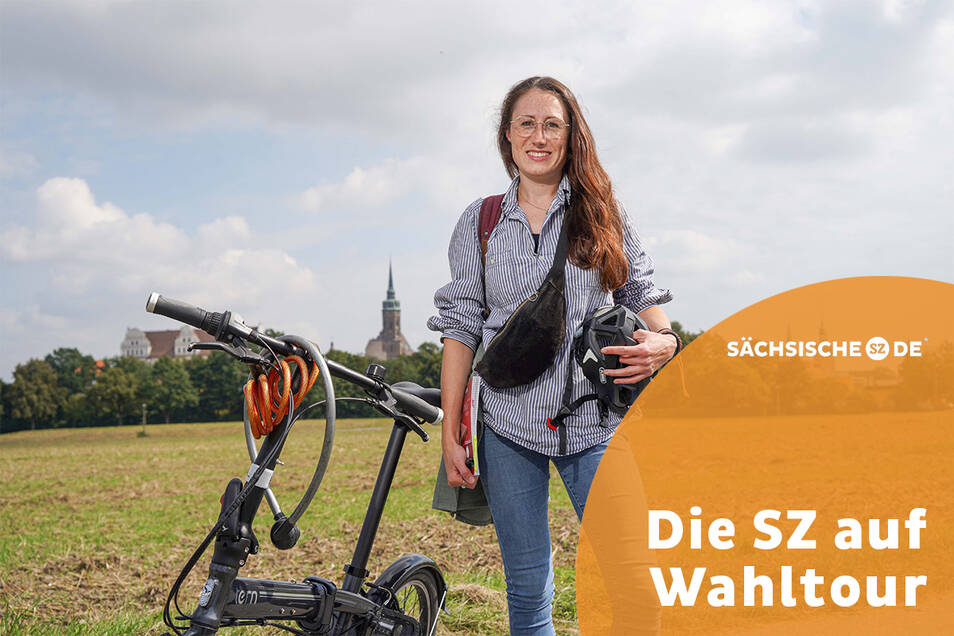 Sächsische.de zieht eine Woche lang mit dem Fahrrad durch den Kreis Bautzen. Reporterin Theresa Hellwig hat ihren Rucksack bereits gepackt.
