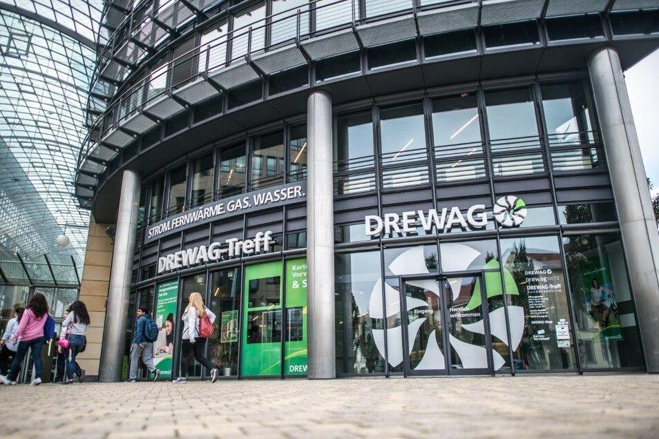 Dresdner können mit ihren Anliegen ab dem kommenden Montag wieder in den Drewag-Treff an der Ecke Freiberger/Ammonstraße kommen.