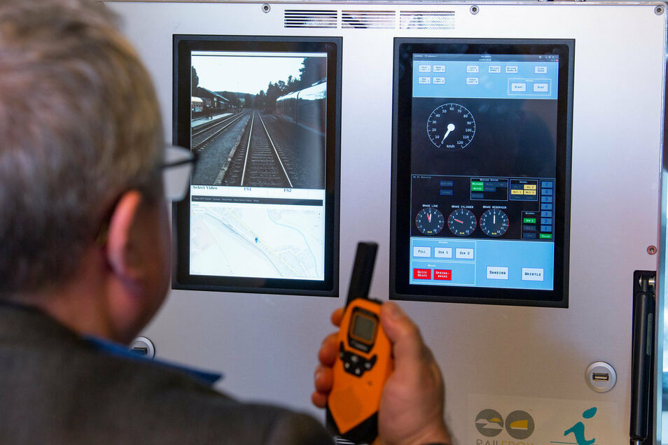 Zukünftig könnten Züge etwa im Gütertransport ferngesteuert werden.