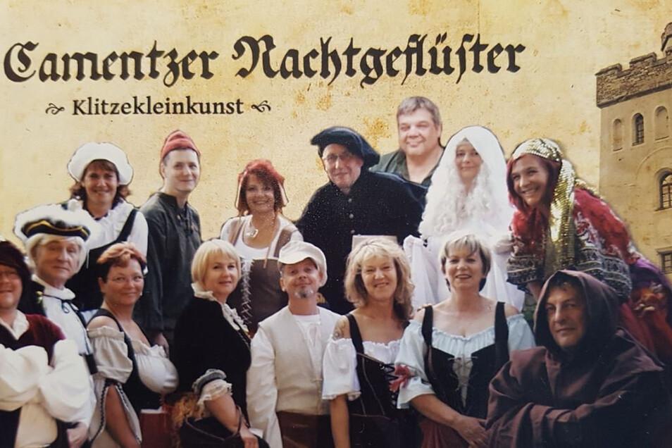 Seit vielen Jahren gehört die Kleinkunst-Truppe in den Sommermonaten zum Bild der Stadt Kamenz. Die Erlebnisführungen sind immer ausgebucht.