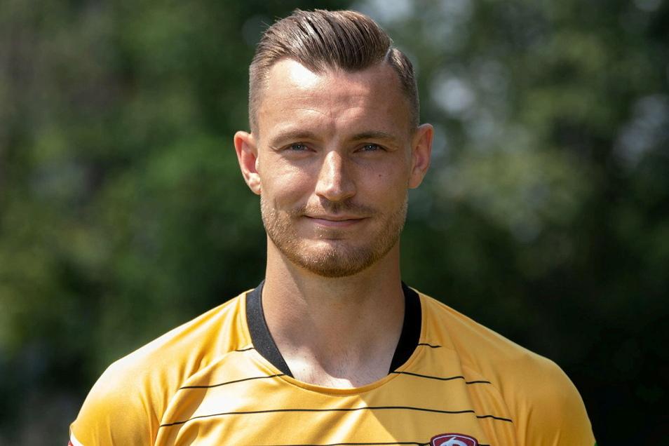 Florian Ballas spielt jetzt bei Dynamos Erzrivalen Erzgebirge Aue in der 2. Bundesliga.
