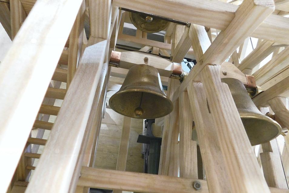 Das Glockenspiel en miniature wird künftig sogar läuten.