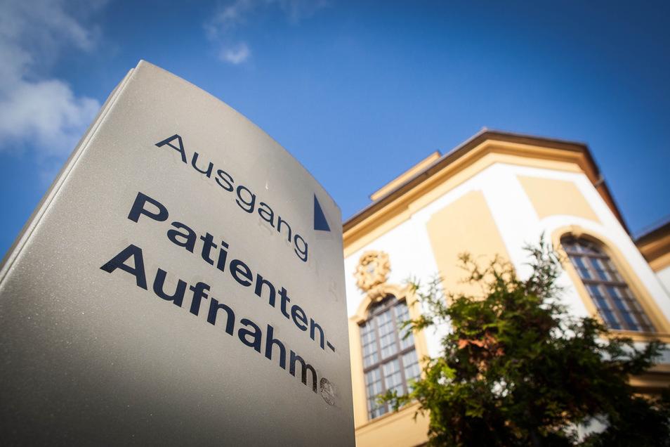 Im Krankenhaus Dresden-Friedrichstadt wird der Marokkaner derzeit behandelt.