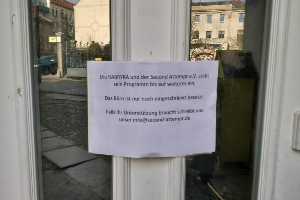 Viele Geschäfte und Beratungsstellen in Görlitz haben geschlossen.