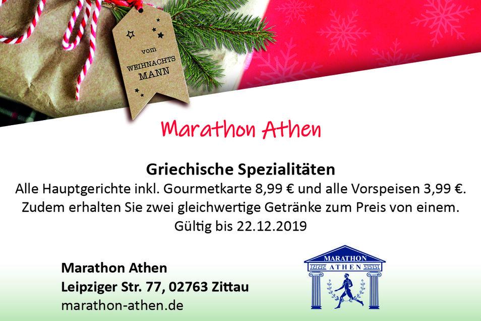 Marathon Athen, Leipziger Str. 77, 02763 Zittau, marathon-athen.de