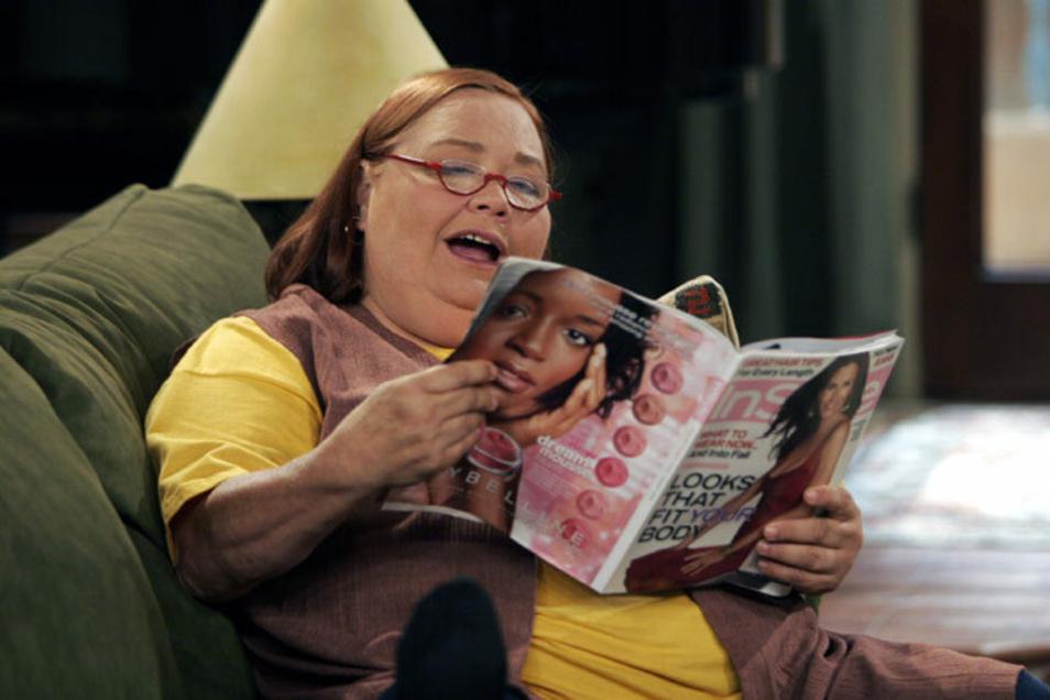 """In der Sitcom """"Two And A Half Men"""" spielte Conchata Ferrell die Haushälterin Berta."""