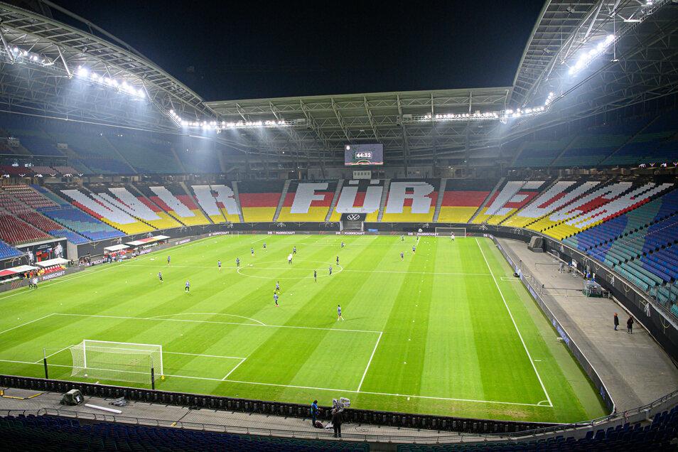 Die Nationalmannschaft in Leipzig - das ist ein seltener Besuch. In diese Woche finden gleich zwei Spiele statt, wenn auch ohne Zuschauer.
