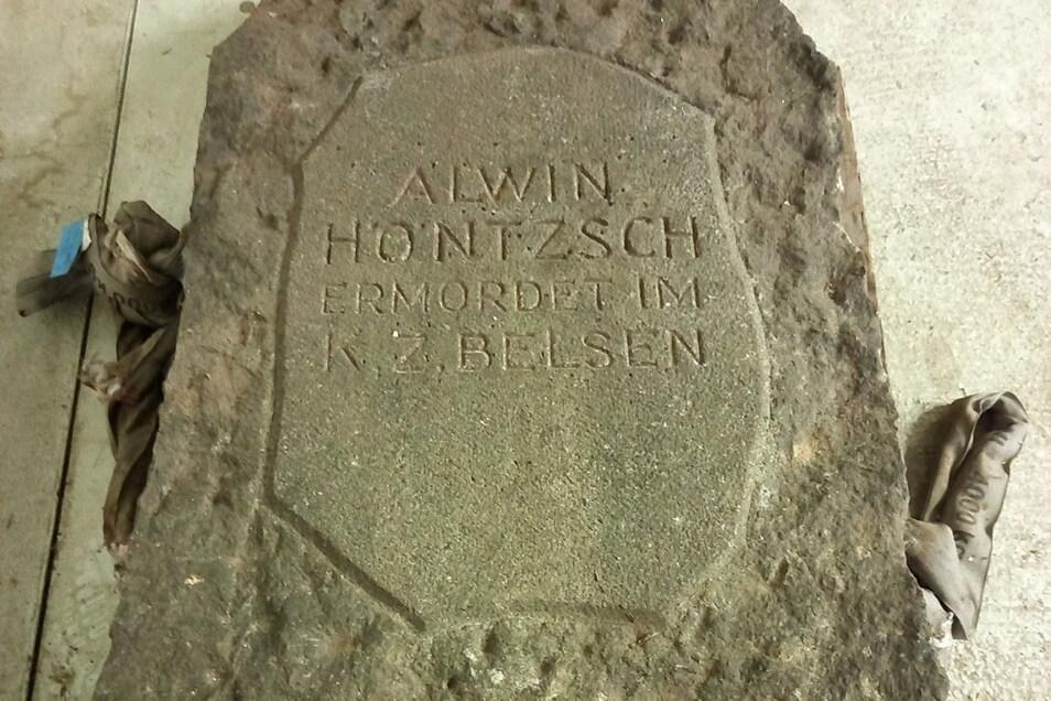 Das Denkmal für den Antifaschisten Alwin Höntzsch wurde eingelagert und soll wieder aufgestellt werden.