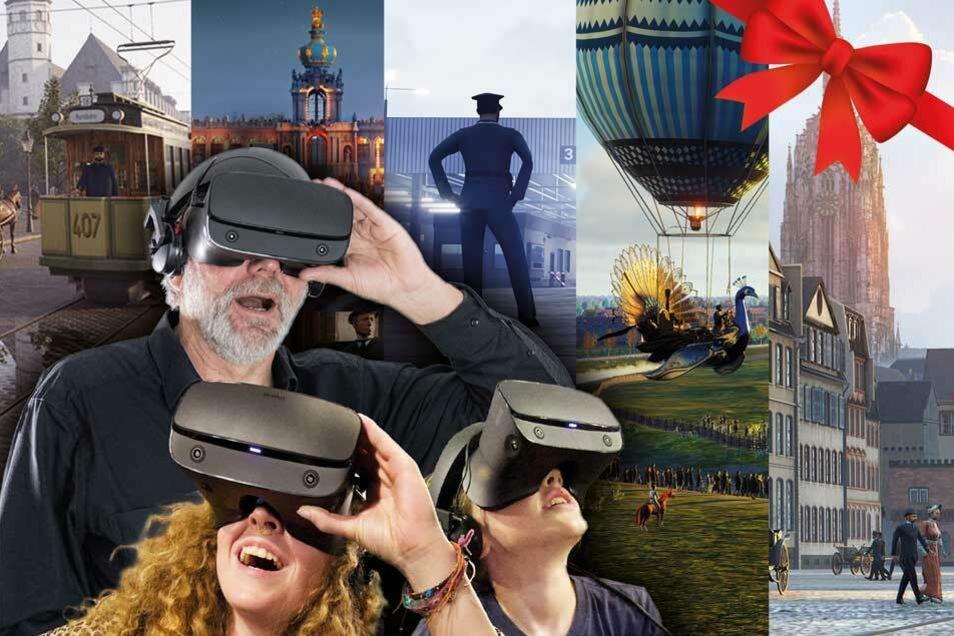 Verschenke eine Virtual-Reality-Zeitreise