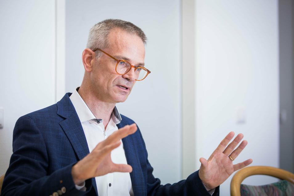 Dresdens CDU-Chef Markus Reichel erklärt seinen Plan, um die CDU wieder zu alter Stärke zu führen.