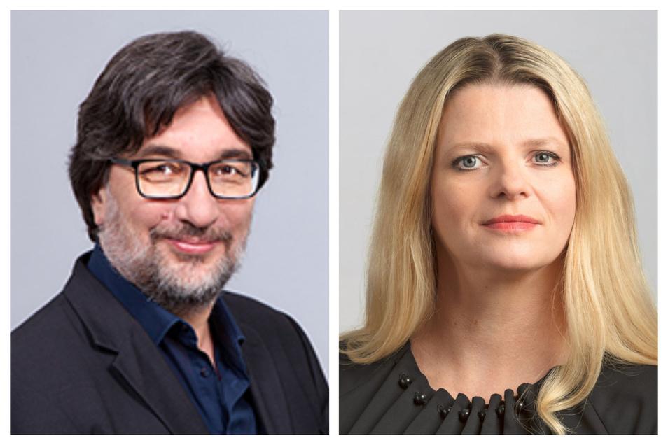 Stefan Hartmann und Susanne Schaper wollen gemeinsam für den Vorsitz der sächsischen Linken kandidieren.