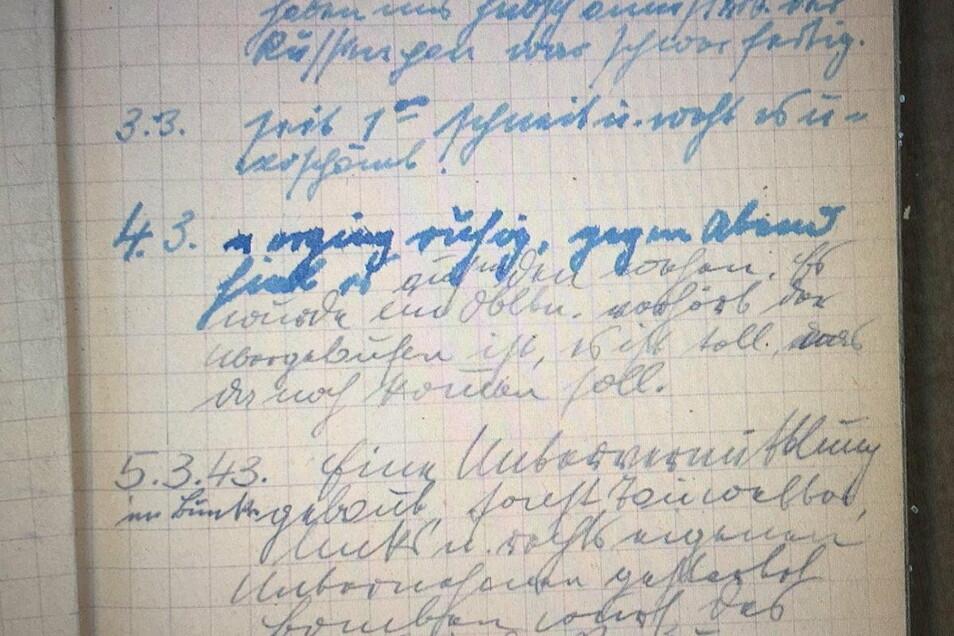 Eine herausfordernde Arbeit: Beim Entziffern der Tagebücher von Trainerlegende Walter Fritzsch, musste sich Buchautor Uwe Karte mit dessen heute nicht mehr gebräuchlichen deutschen Schreibschrift plagen.
