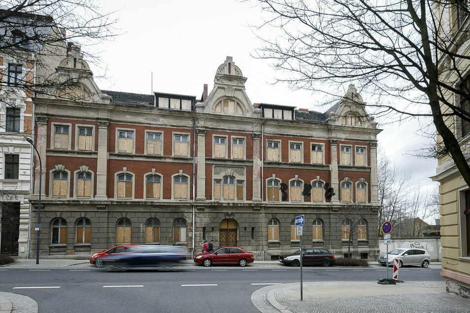 Dieses Gebäude an der Rauschwalder Straße soll der Eingang zur neuen Görlitzer Oberschule werden.