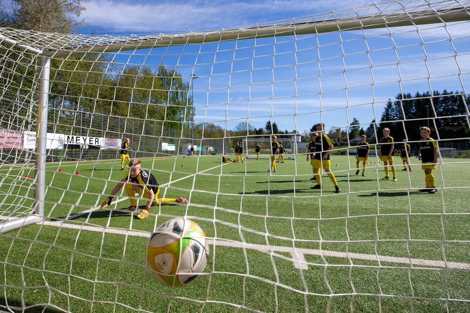 Vereinssport, hier beim TSV Graupa: Wie lange funktioniert das noch ohne städtische Zuschüsse?