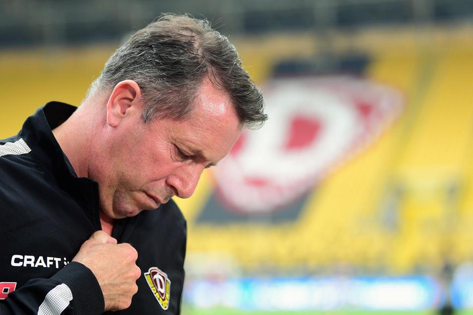 Markus Kauczinski ist nach dem nahezu sicher scheinenden Abstieg nachdenklich. Die Kritik seines Spielers Chris Löwe an der DFL unterstützt er - inhaltlich.