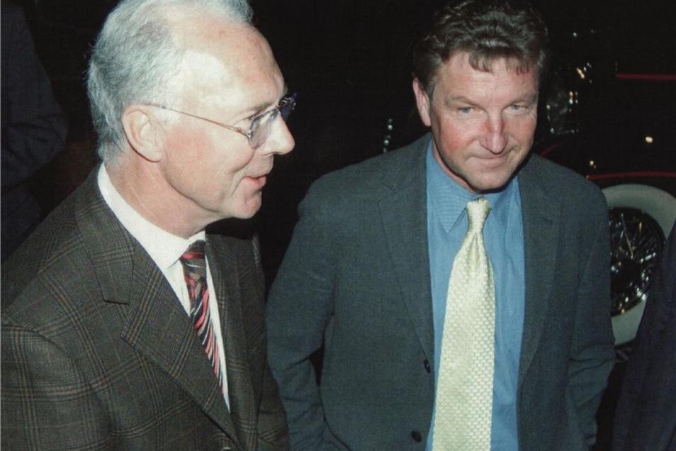 Franz Beckenbauer und Hans-Jürgen Dörner: Zwei der besten Fußballer ihrer Zeit, der eine spielte für den Westen, der andere im Osten. Gesamtdeutschen Ruhm erlangte nur einer.