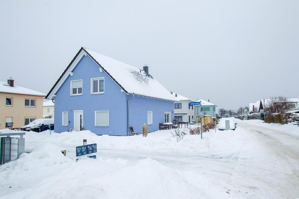 In Wilsdruff werden in den nächsten Monaten weitere Eigenheime entstehen. Dieses Foto entstand unlängst in Kesselsdorf.