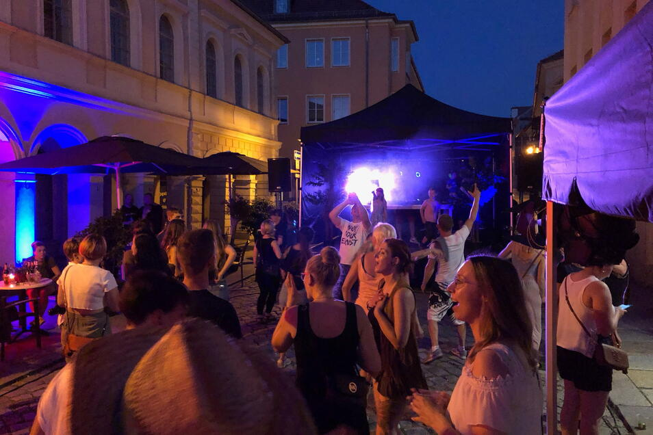 Fete de la Musique in Kamenz 2021: Auf den Straßen und Plätzen wird gefeiert.