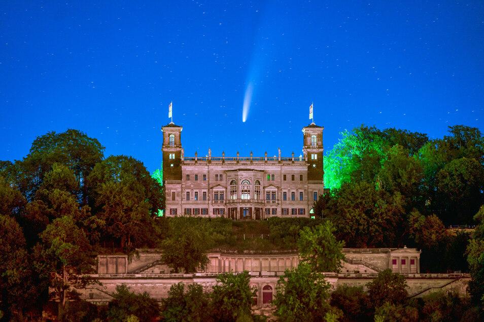 Komet Neowise Sachsen