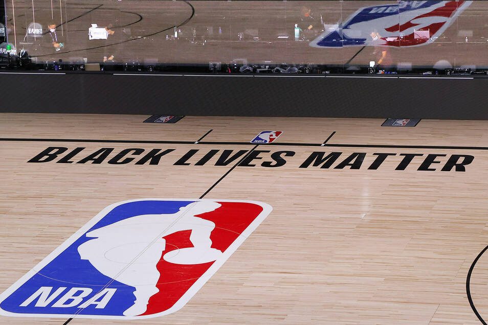 Die NBA steht zur Black-Lives-Matter-Bewegung.