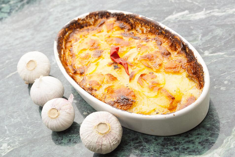 Kartoffelgratin Rezept aus der Sterneküche zeigt Thomas in seinem Kochblog