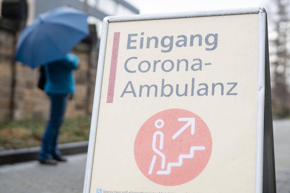 Werden die Corona-Ambulanzen, wie hier in Dresden, bald wieder vermehrt gebraucht?