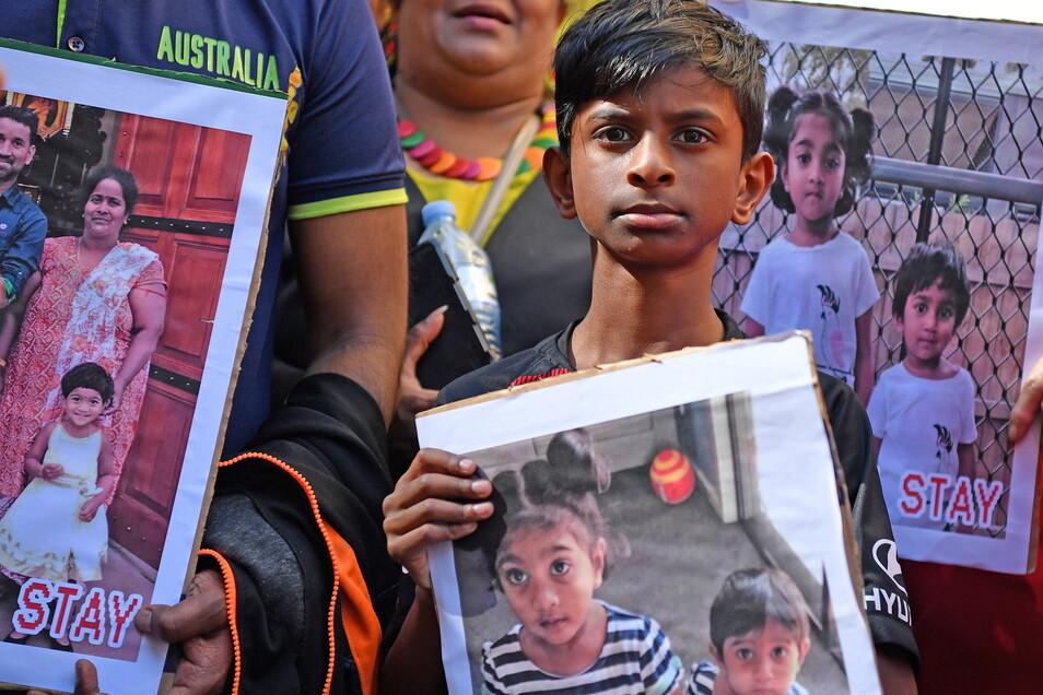 Das Schicksal der tamilischen Familie Murugappan bewegt in Australien viele Menschen.