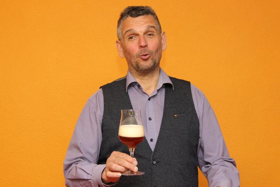 Biersommelier Jens Zimmermann (56)