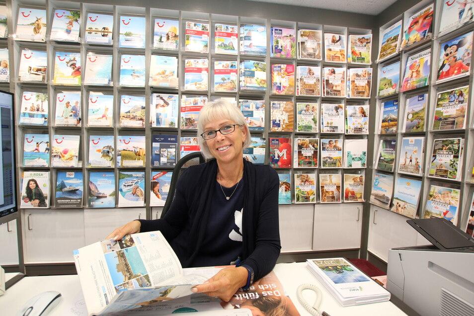 Viel Andrang herrschte in der vergangenen Woche beim Reisebüro Reiseservice May sowohl in Waldheim als auch in Hartha. Vor allem Busreisen und Flüge nach Griechenland werden im Harthaer Büro bei Leiterin Tina Görlitz gebucht.