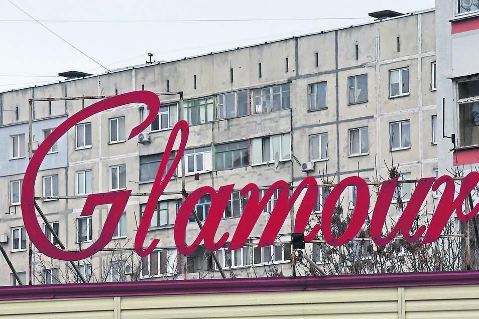 Von Glamour ist in Mariupol wahrlich nichts zu sehen. Die Stadt  leidet auch unter der russischen Seeblockade.