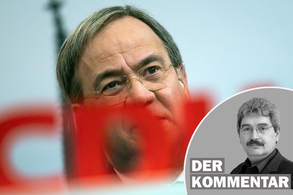Armin Laschet wurde am Samstag zum neuen Parteivorsitzenden der CDU gewählt. Peter Heimann kommentiert den Ausgang der Wahl.