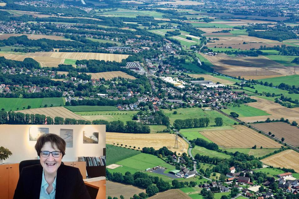 Fröndenberg ist nun seit knapp 30 Jahren die Partnerstadt Harthas. Seit November 2020 ist Sabina Müller (SPD, kleines Foto) Bürgermeisterin der 21.000 Einwohner-Stadt.