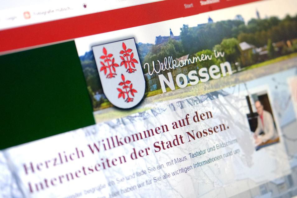 Die Internetpräsenz der Stadt Nossen soll modernisiert werden.