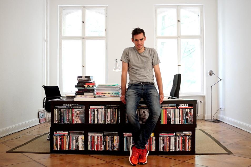 """Felix von Boehm ist Mit-Geschäftsführer von Lupa-Film in Berlin. Ein Bär wäre für ihn der erste, wenn """"Fabian"""" am Freitag zu den Gewinnerfilmen zählen sollte."""