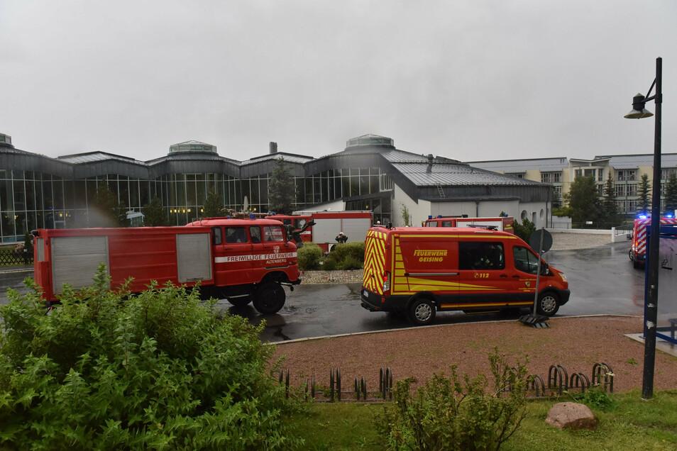 Vier Feuerwehren sind am Sonntagabend zur Rehaklinik Raupennest ausgerückt - wegen einem Fehlalarm.