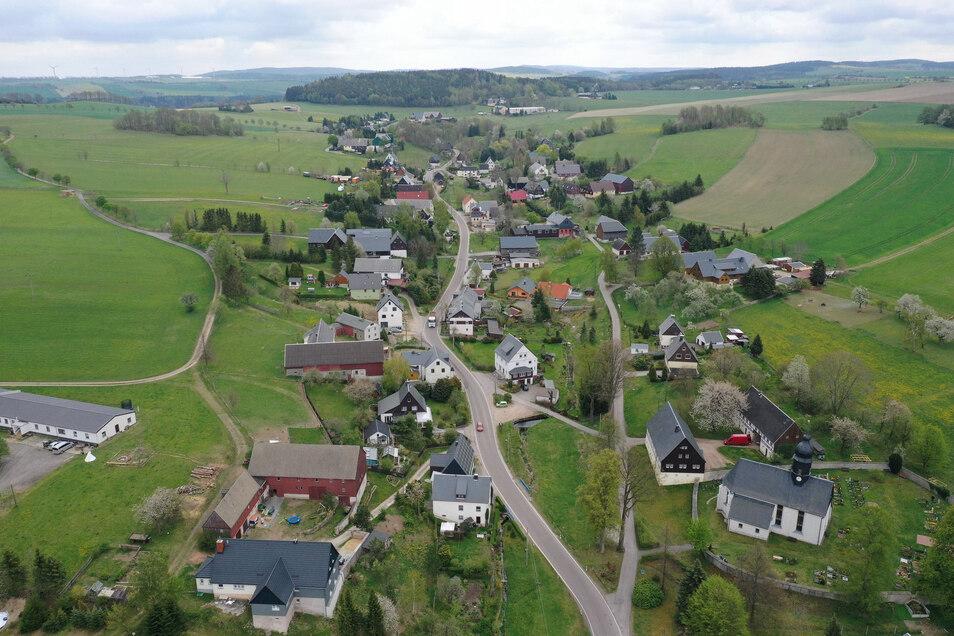 An Hartmannsdorf-Reichenau im Osterzgebirge ist das Corona-Virus bisher noch vorbeigezogen.