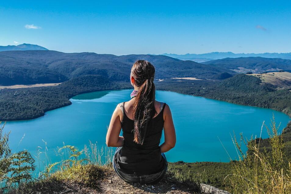 """""""Ab und zu innehalten"""": Die atemberaubende Natur Neuseelands hält Nicole Baumgärtel in ihrem Herzen fest."""