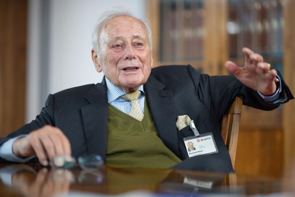Hat als Unternehmer fast alles richtig gemacht: Milliardär Reinhold Würth.