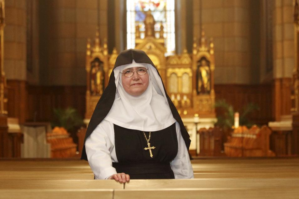 Schwester Elisabeth Vaterodt ist seit 2016 Äbtissin vom Kloster St. Marienthal.
