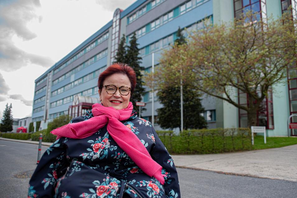 Ulrike Pohl ist Schulsozialarbeiterin am Gotthold-Ephraim-Lessing-Gymnasium in Kamenz und jetzt auch Behinderten- und Inklusionsbeauftragte.
