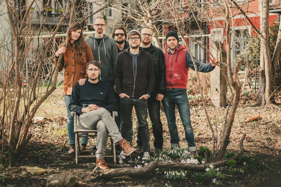 Die Dresdner Band Bergen wird beim Parzellen-Pop im Kleingartenverein drei Kurzkonzerte spielen.