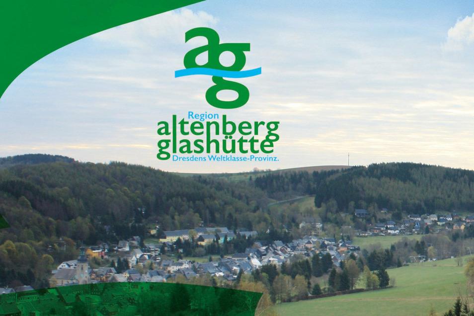 Mit diesem Logo wollen Altenberg und Glashütte in den nächsten Jahren um Fachkräfte und neue Einwohner werben.