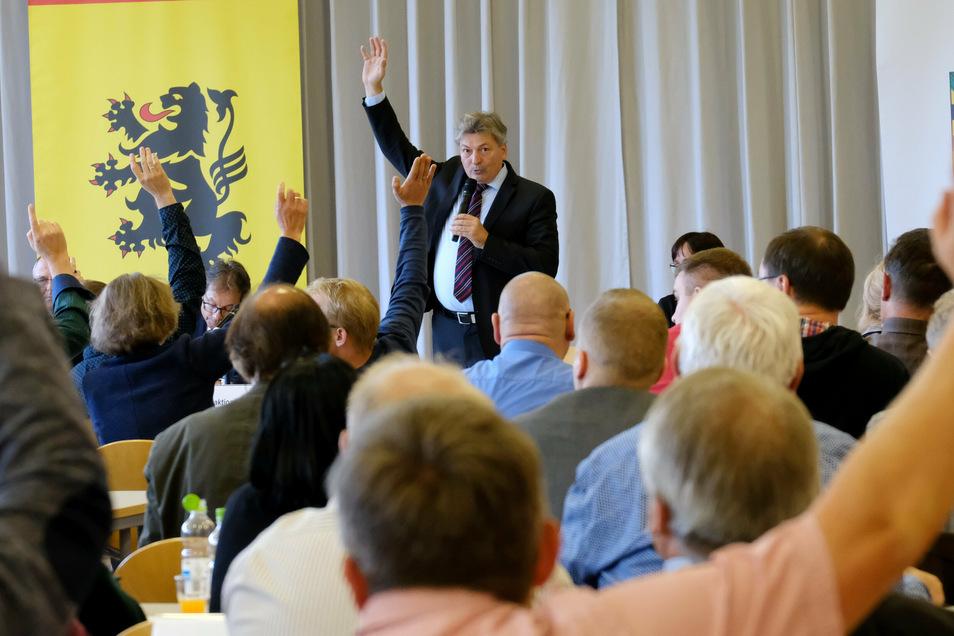 Nur eine Abstimmungsveranstaltung? Die Fraktion Grüne/SPD möchte die Meißner Kreistagssitzungen wieder spannender und attraktiver machen.