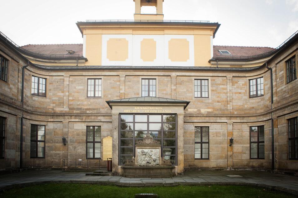 Dresdens Krankenhäuser in städtischer Trägerschaft, zu denen das Krankenhaus Friedrichstadt (Foto) zählt, machten 2017 fast 2,9 Millionen Euro Verlust.