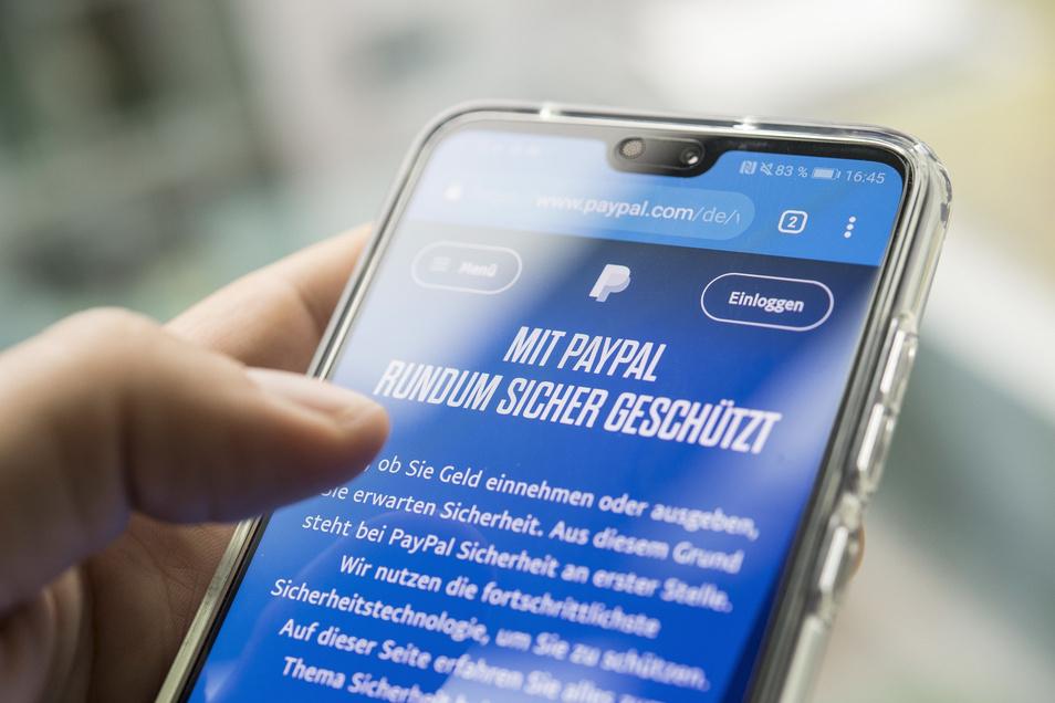 Mit einem Bezahlsystem ähnlich Paypal soll sich ein Meißner rund 300.000 Euro erschwindelt haben.