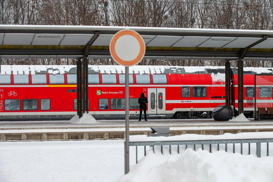 Auf allen S-Bahnlinien – hier Pirna – kam es zu Verspätungen.