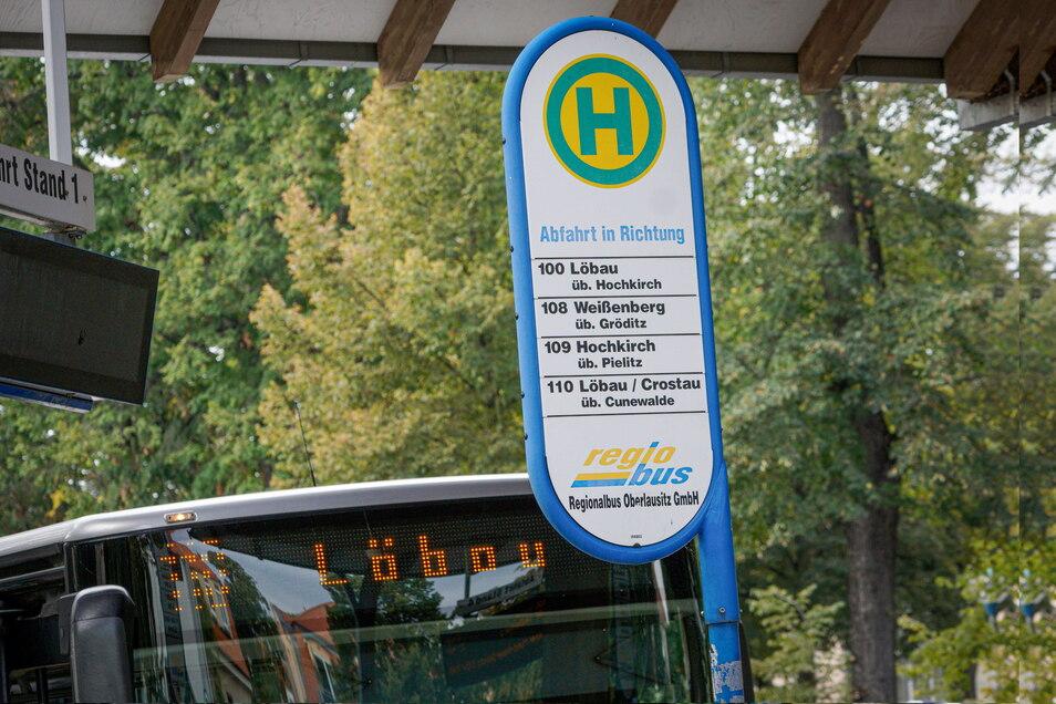 Zwischen Bautzen und Löbau sollen bald mehr Busse fahren, speziell am Wochenende.